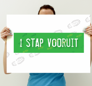 Previous<span>Campagne: 1 Stap Vooruit</span><i>→</i>