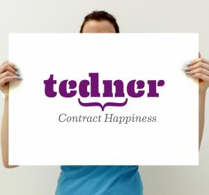 <span>Huisstijl / logo: Tedner</span><i>→</i>